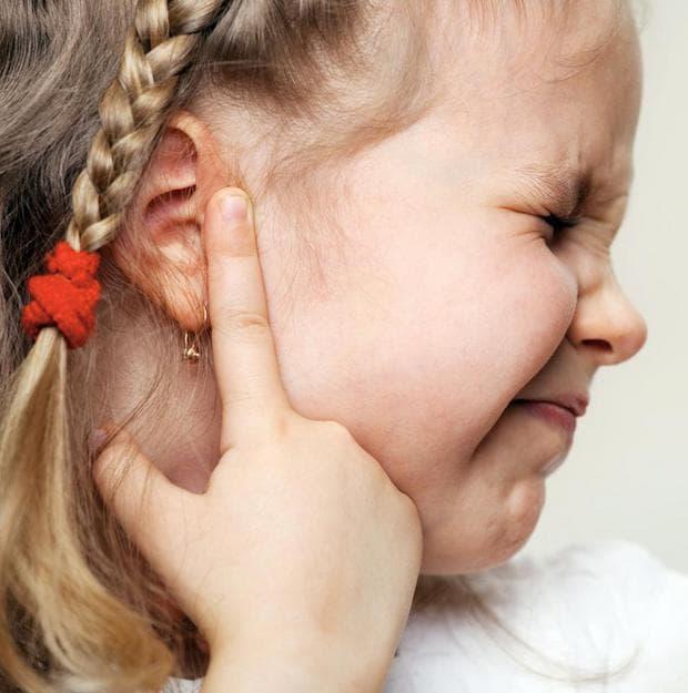 болка в ушите при деца