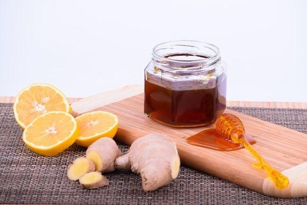 Мед, джинджифил и лимон