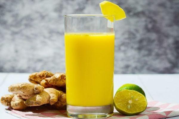 цитрусов сок с джинджифил