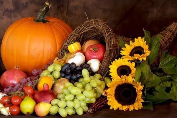 есенни плодове и зеленчуци