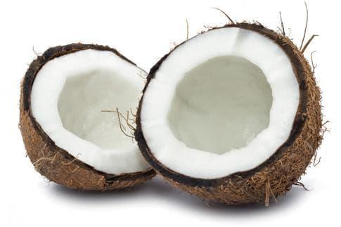 отворен кокосов орех