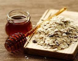 Овесени ядки и мед