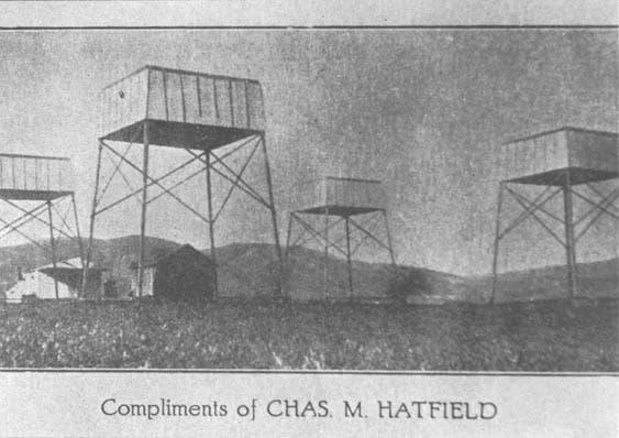 Визитката на Чарлз Хетфийлд
