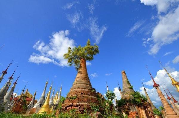 Пагоди в Мианмар