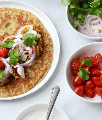 палачинки с бадемово брашно и ленено семе