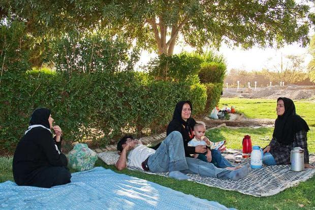 жени в парк