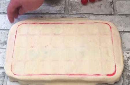 парти хапки във форма за ледени кубчета