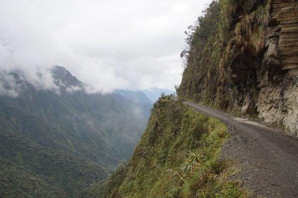Юнгас, Боливия