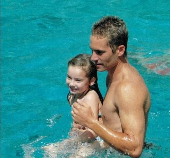 Пол Уокър и дъщеря му