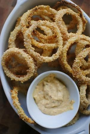 печени кръгчета с бадемово брашно