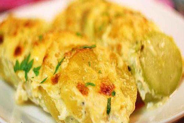 тиквички и картофи