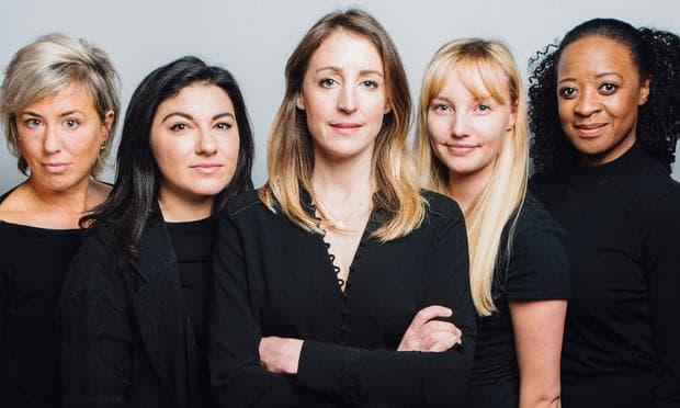 Пет жени в пиесата за Люински