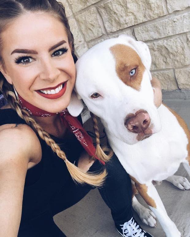 Пити - кучето на Кристина