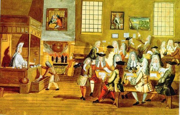Английско кафене от 17 век