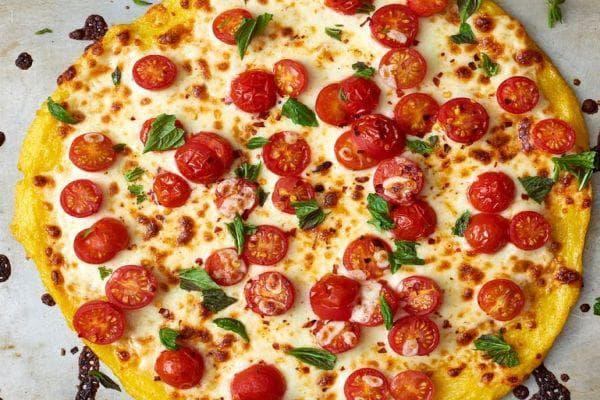 пица с царевично брашно