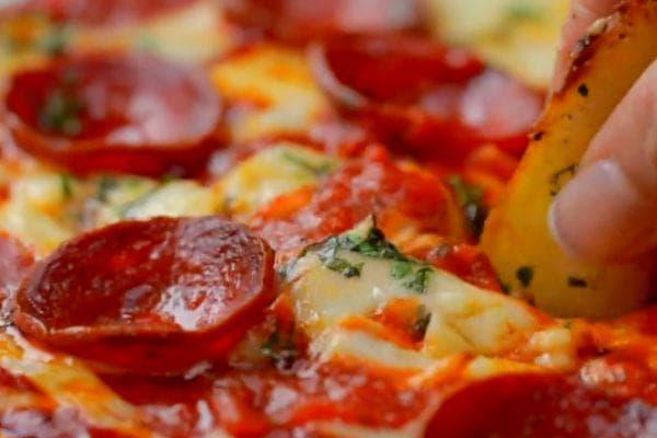 картофки с пица дип