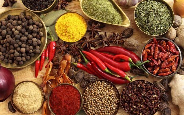 Пикантни и силно ароматни храни