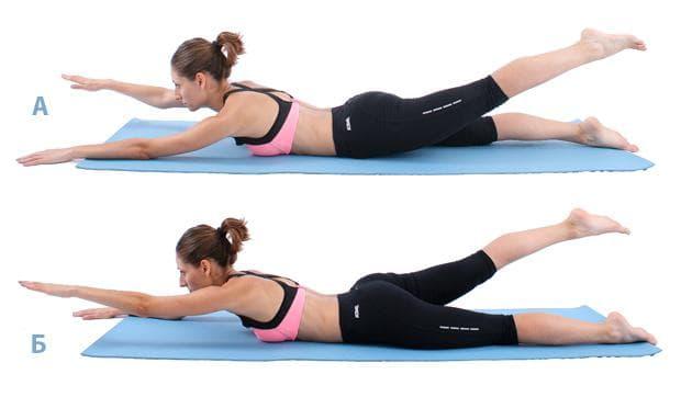 Пилатес упражнения за гръб