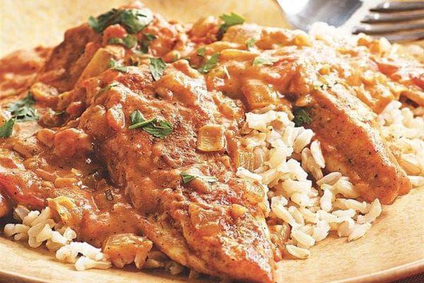 пилешко с гарам масала