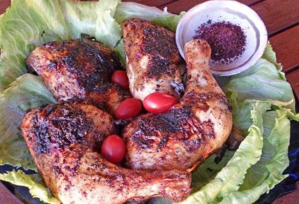 пиле със сумак