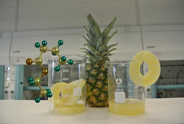 състав на ананас