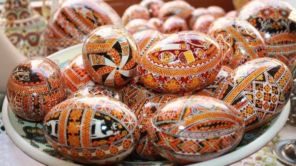 украински великденски яйца писанка