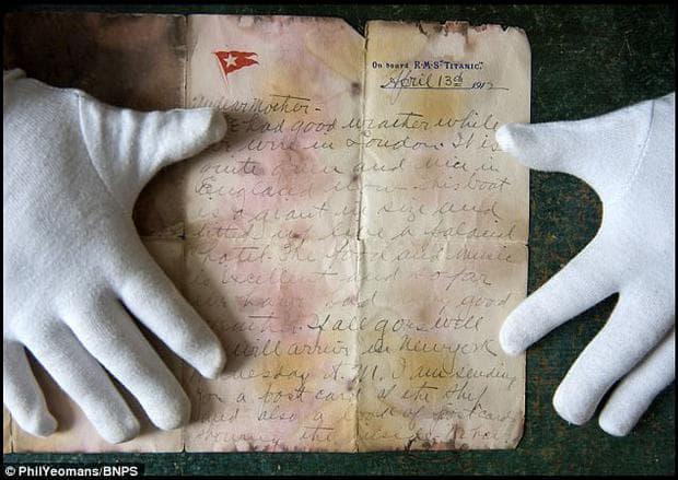 писмо от Титаник