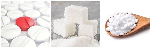 Плацебо захарни таблетки
