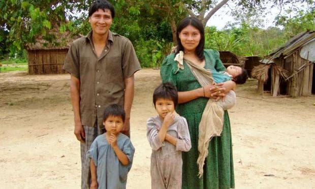 семейство от племето