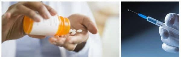Показания за лечение с фенотиазини (антипсихотици)