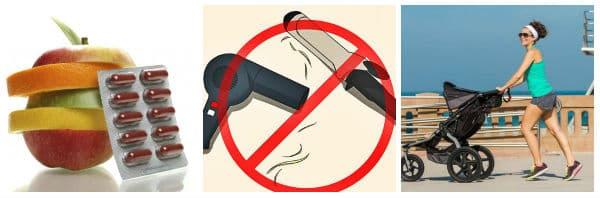 Полезни съвети при оредяване на косата след раждане
