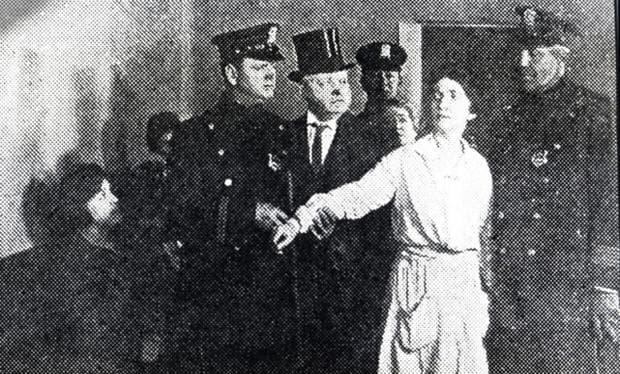 Арестуването на Маргарет Санджър