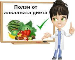 Ползи от алкалната диета