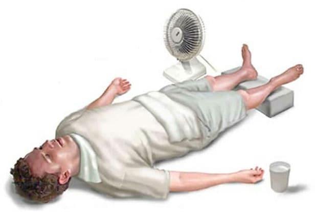 Първа помощ при топлинен удар