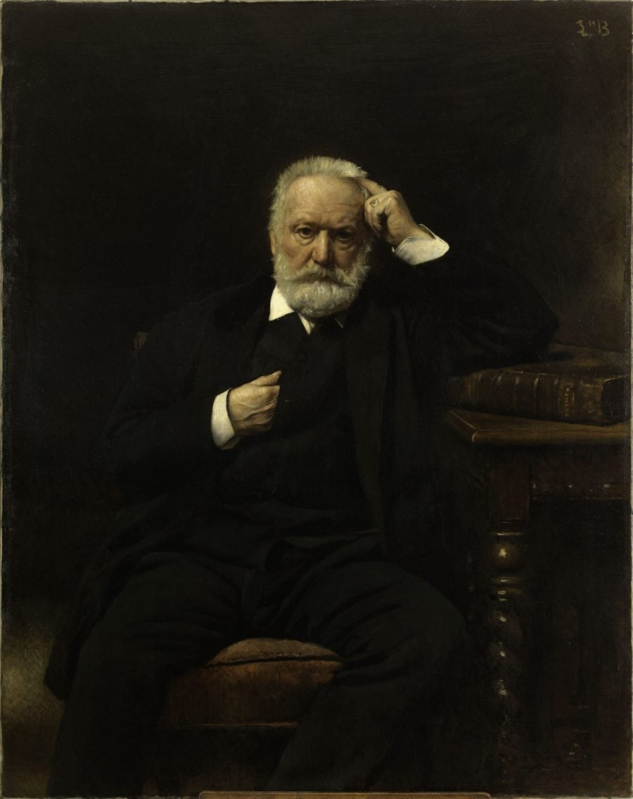 Портрет на Виктор Юго