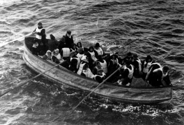 Последната спасителна лодка от Титаник
