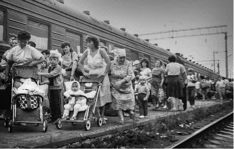 Евакуацията на Припят