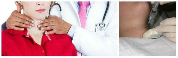 Поставяне на диагнозата при тиреоидит