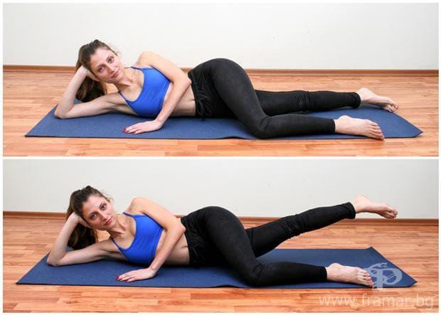 упражнение за вътрешна част на бедрата