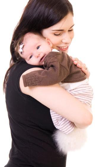 Прекарвайте колкото можете повече време с бебето