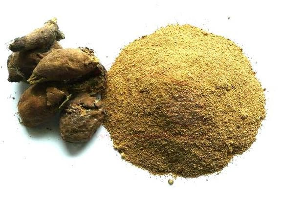 плодова кора и прах от бибитаки