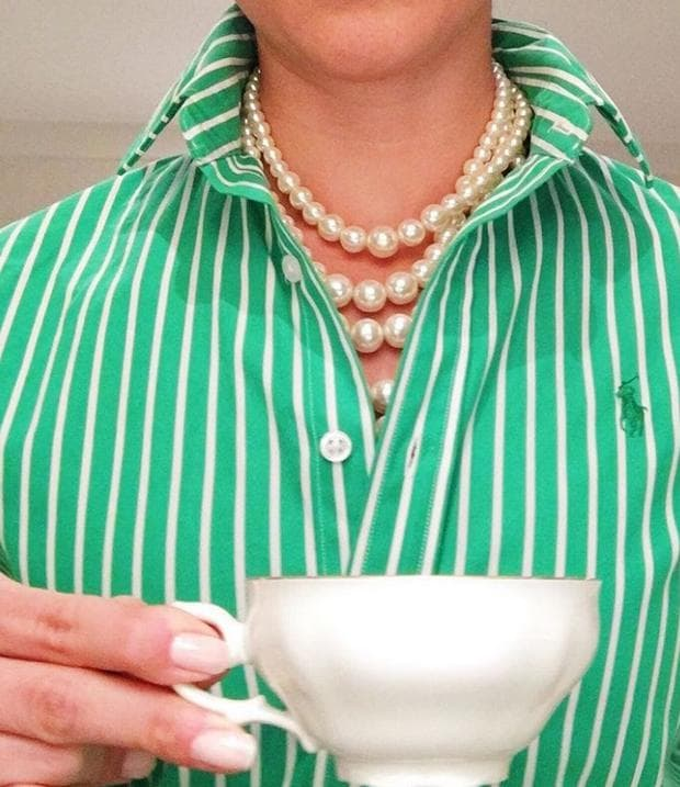 чаша чай