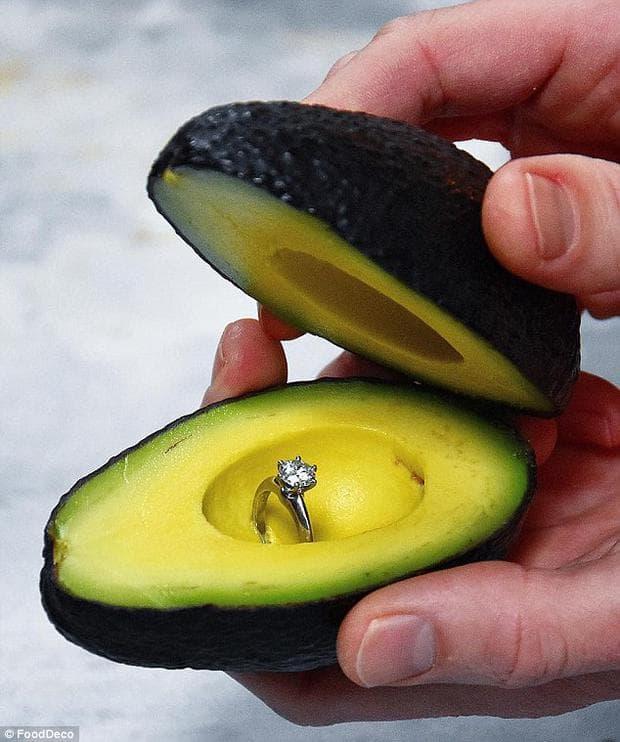 авокадо с пръстен