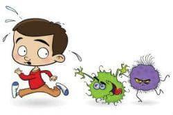 Предпазване от заразяване и вторична бактериална инфекция