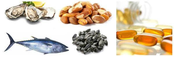Препоръчителни дневни дози на селен, храни богати на селен
