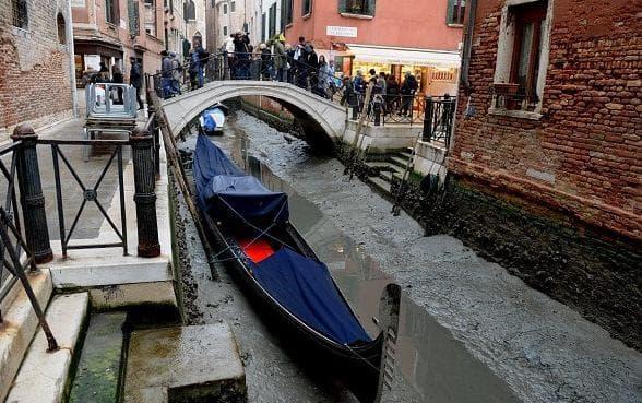 Пресушените канали на Венеция - фотосесия, която която заслужава да бъде видяна