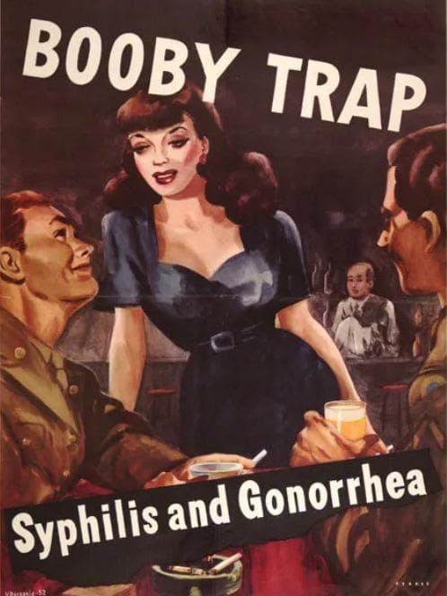 Военна пропаганда за венерически заболявания