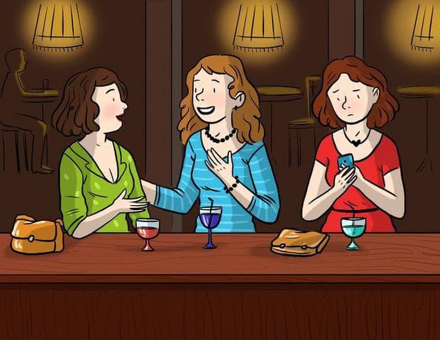 три дами