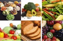 Прием на богати на фибри храни
