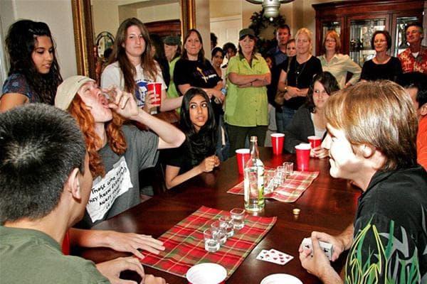 Прием на алкохол в юношеска възраст